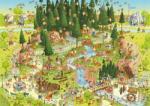 Heye Black Forest Habitat - Fekete erdei élőhely 1000 db-os (29638)