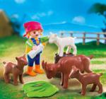 Playmobil Fetita si Caprele (4785)