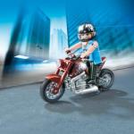 Playmobil Motocicleta Supercool (5527)