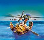 Playmobil Piratul si Barca cu Vasle (4942)