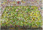 Heye Triangular puzzle - Mordillo - Crazy World Cup 4000 db-os (29072)