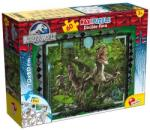 Lisciani Maxi Puzzle Jurassic World Kétoldalas Színezhető 60 db-os