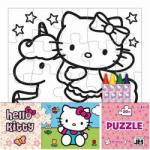 Jiri Models Hello Kitty Színezhető puzzle 20 db-os (8322201)
