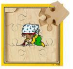 Rolf Nevelj napraforgót 4 rétegű puzzle