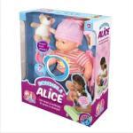 D-Toys Incredibila Alice - Papusa Bebe Vorbitoare (66138) Papusa