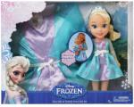 JAKKS Pacific Disney Frozen - Papusa Toddler Elsa si set de costum (31073) Papusa