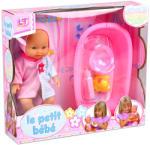 LOKO Toys Bebe cu set baie (98413) Papusa