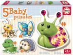 Educa Baby Puzzle Kisállatok 5 az 1-ben