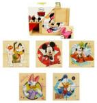 Brimarex Dobozos fa puzzle - Mickey és Minnie 6x4 db-os (1567147)