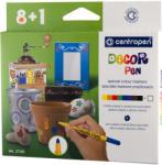 CENTROPEN Markere pentru decoratiuni 8+1 culori/set CENTROPEN 2738