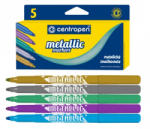 CENTROPEN Marker permanent metallic CENTROPEN 8690 5 buc. /set