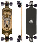 D STREET Longboard Drop Through Stag Skateboard
