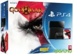 Sony PlayStation 4 Jet Black 500GB (PS4 500GB) + God of War III Remastered Console