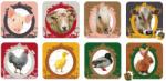 Janod Lovely Puzzles 4 az 1-ben puzzle dobozban - Farm állatok (02822)