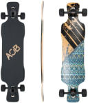 Area One Boards Longboard Asym Flower 39 Skateboard