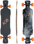 """Area One Boards Longboard BlackShot 39"""" Skateboard"""