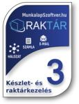 MunkalapSzoftver. hu RakTár 3 Készletnyilvántartó Szoftver - Több Gépes