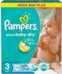 Pampers Active Baby-Dry 3 Midi (4-9 kg) Mega Box Pack - 174 buc