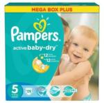 Pampers Active Baby-Dry 5 Junior (11-18 kg) Mega Box - 126 buc