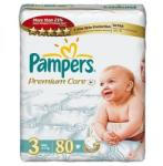 Pampers Premium Care 3 Midi (4-9 kg) Jumbo Pack - 80 buc