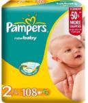 Pampers NewBaby-Dry 2 Mini (3-6 kg) Giant Pack - 108 buc