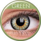 Maxvue Vision Glamour - Green - dioptria nélküli, negyedéves (2 db)