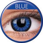Maxvue Vision Glamour - Blue - dioptria nélküli, negyedéves (2 db)