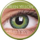 Maxvue Vision Fusion - Green Yellow - dioptria nélküli, negyedéves (2 db)