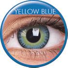 Maxvue Vision Fusion - Yellow Blue - dioptria nélküli, negyedéves(2 db)
