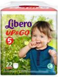 Libero UP&GO 5 Maxi Plus (10-14 kg) 22 buc