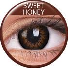 Maxvue Vision ColorVue Big Eyes - Sweet Honey (2 db) - 3 havi