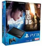 Sony PlayStation 3 Super Slim 500GB (PS3 Super Slim 500GB) + The Last of Us + Beyond - Two Souls Console