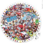 Janod Képkereső puzzle - Tűzoltók 208 db-os (02793)