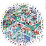 Janod Képkereső puzzle - Sürgősségi osztály 208 db-os (02795)