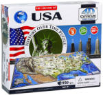 4D Cityscape 4D City Puzzle - USA