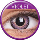 MAXVUE VISION 3-Tones - Violet - dioptria nélküli, negyedéves (2 db)