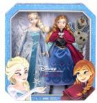 Mattel Disney Frozen set 2 in 1 - Printesele Anna si Elsa (CKL63) Papusa