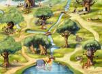 """Disney Fototapet """"padurea Lui Winnie""""- Colectia Disney"""
