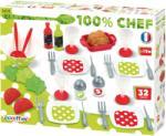 Ecoiffier Set De Tacamuri Cu Salata (ECO2605) Bucatarie copii