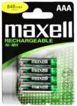 Maxell acumulatori AAA 840mAh Ni-Mh HR03 Baterie reincarcabila