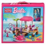 Mega Bloks - Barbie Statiunea Tropicala (MB80244) - ookee Papusa Barbie