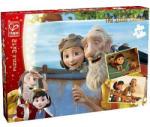 Hape A kis herceg puzzle 3x12 db - álmok