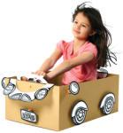 Makedo BoxProps Transport Roadster Makedo (MAKEDOBP07)