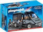 Playmobil Rendőrségi rabszállító fénnyel és hanggal (6043)