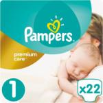 Pampers Premium Care 1 Newborn (2-5kg) 22db
