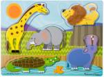 Melissa & Doug Tapintós puzzle - állatkert Melissa & Doug (MD14328)
