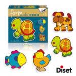 Diset Form Baby Puzzle - Teknősbékás (DS69953)
