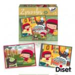 Diset 2puzzles Mese Puzzle - Piroska (DS69961)