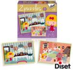 Diset 2puzzles Mese Puzzle - Kata és a Medvék (DS69964)