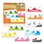 Diset Trio Baby Puzzle - Színek (DS69967)
